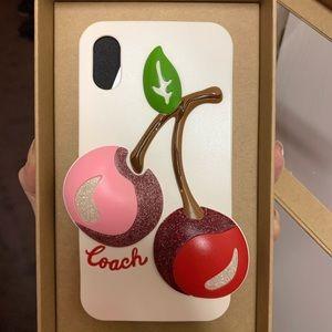 iPhoneX/XS Coach Phone Case